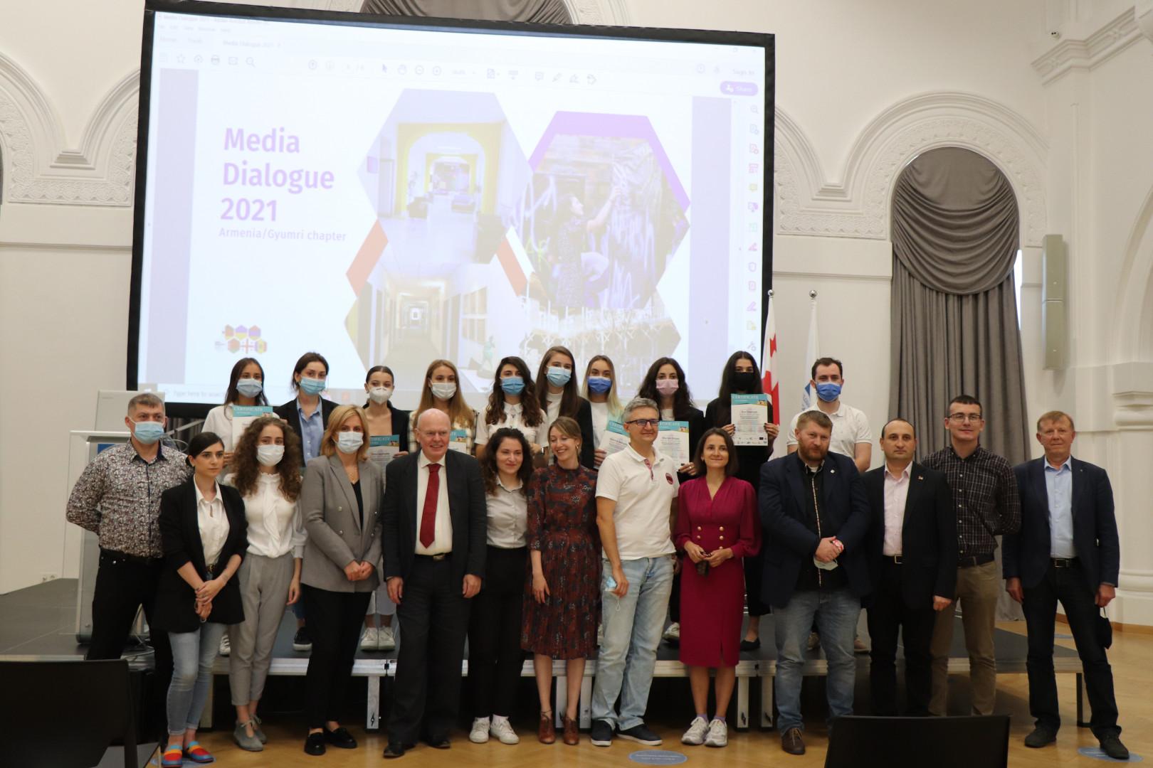 სამუშაო შეხვედრები და კონფერენცია - Media Dialogue 2021 for Conflict Sensitivity and Research