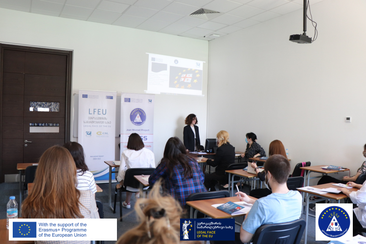 ევროპის დღე კავკასიის უნივერსიტეტის Erasmus+ ჟან მონეს პროექტების ფარგლებში