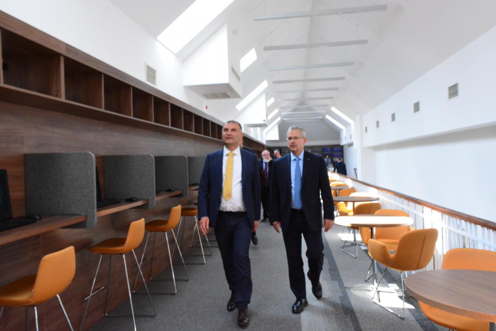 Visit of General Denis Mercier at Caucasus University